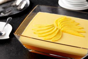 Dessert crémeux à la pêche et à la mangue Image 1