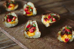 Cheesy Potato Skins Image 1