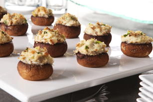 Crabmeat-Stuffed Mushrooms Image 1