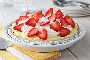 Fluffy Lemon-Berry Pie Image 1