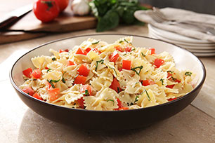 Italian Pasta with Tomato and Basil Image 1