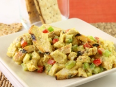 Grilled Curry-Chicken Salad