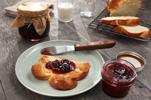 30 Minutes to Homemade SURE.JELL Sweet Cherry Freezer Jam