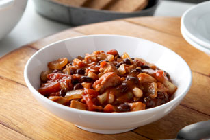 Black and White Bean Chicken Chili Image 1