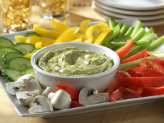 Creamy Chipotle-Avocado Dip