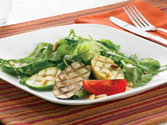 Balsamic Salad with Grilled Vegetables