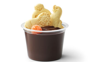 Animal Cracker Pudding Cups Image 1