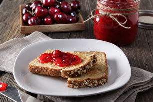 No-Cook Sour Cherry Light Jam