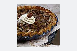 Southern Custard Pecan Pie Image 1