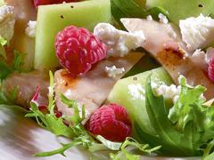 Chicken and Melon Salad