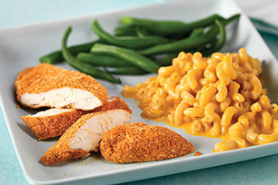 Crispy Chicken with Macaroni & Cheese Dinner