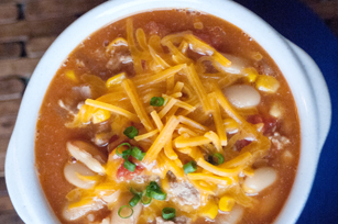 30-Minute White Bean Chili Image 1