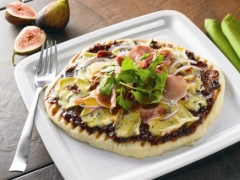 Fig and Prosciutto Flat Bread Pizza