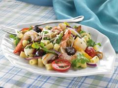 Caesar-Seafood Pasta Salad