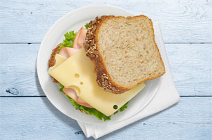 Turkey & Swiss Sandwich Image 1