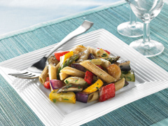 Grilled Vegetable and Whole Wheat Pasta Salad