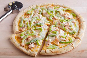 2-Cheese Chicken Pizza Image 1