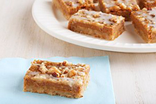 Pumpkin-Walnut Pie Bars Image 1