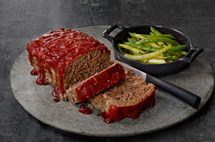 Saucy Steakhouse Meatloaf
