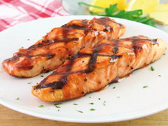 Grilled California-Styled Salmon