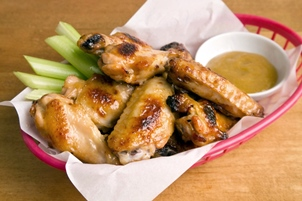 Honey Mustard Wings Image 1