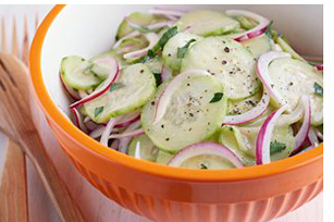 Cucumber-Onion Salad Image 1