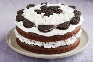 Devil's Food Marshmallow Cake Image 1
