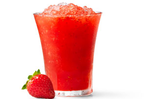 Strawberry Snow Cones