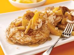 Tropical Island Pancakes