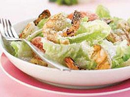 Grilled Shrimp-Caesar Salad