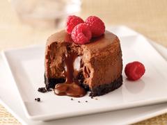 Molten Chocolate Cheesecake