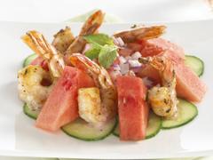 Grilled Shrimp Summer Starter