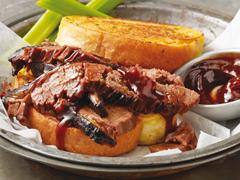 Slow-Barbecued Beef Brisket
