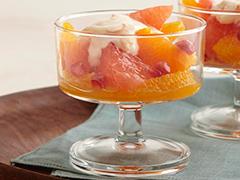 Citrus & Pomegranate Coupe