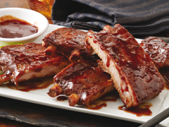 Sweet 'n Spicy BBQ Ribs