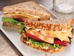 Marinated Chicken & Roasted Pepper Sandwich