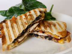 Grilled Chicken & Bacon Panini
