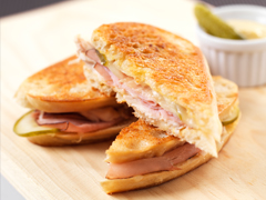 Cuban Chicken Grilled Cheese