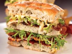 focaccia bread sandwich