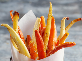 Parsnip & Carrot Oven Frites