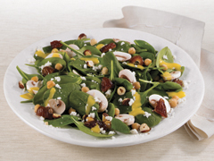 Spinach Salad Middle Eastern Style