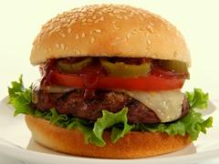 Burgers épicés à la sauce barbecue