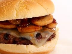 Beefy Mushroom & Swiss Burger