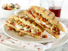 Panini italien à la bruschetta