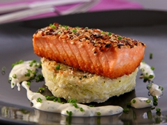 """""""Everything-Bagel"""" Crusted Salmon"""