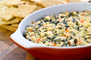 Warm Spinach & Crab Dip
