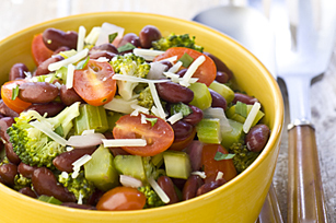 Warm Harvest Bean Salad