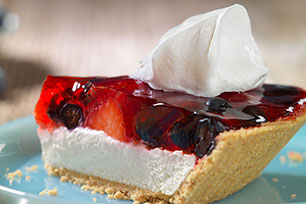 Summer Berry Cheesecake Pie