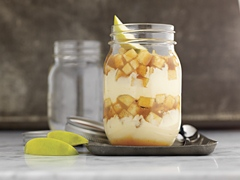 Caramel-Apple Cheesecake Parfait