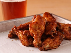 Root Beer-Glazed Chicken Wings